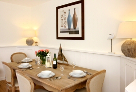 Pepperclose Cottage Dining Table, Bamburgh, Northumberland